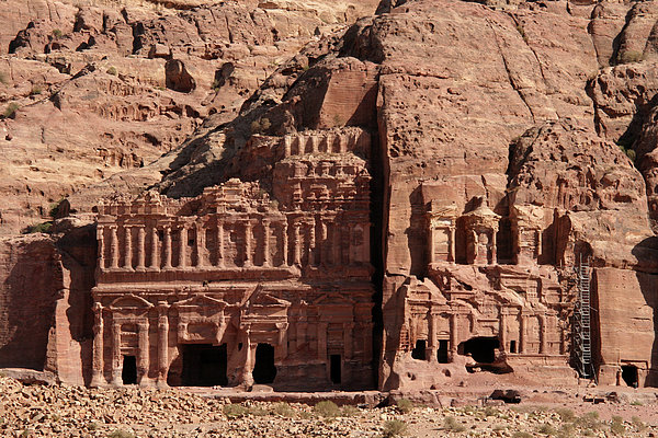 Royal Tombs, Petra, Jordan Print by Joe & Clair Carnegie / Libyan Soup