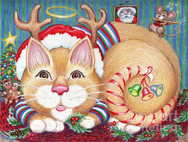 Dee Davis - Rudolph The Pink Nosed Dear Cat