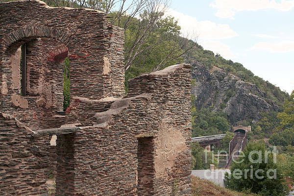 Ruins Of St. Johns Church In Harpers Ferry Photograph  - Ruins Of St. Johns Church In Harpers Ferry Fine Art Print