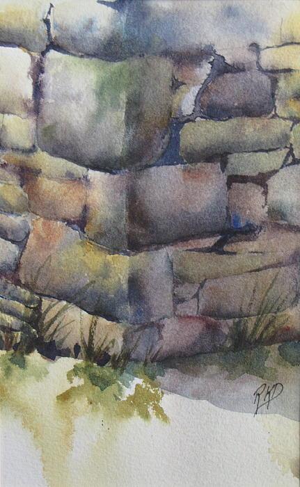 Ruins Print by Ramona Kraemer-Dobson