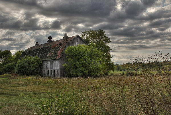 Rural Clayton Print by Lori Deiter