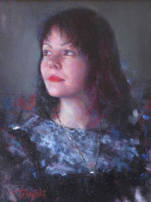 Takayuki Harada - Russian Girl In Gray