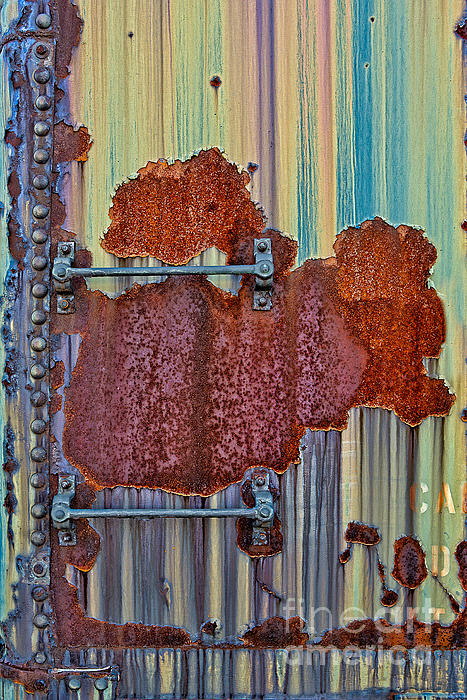Rusted Art Print by Susan Candelario