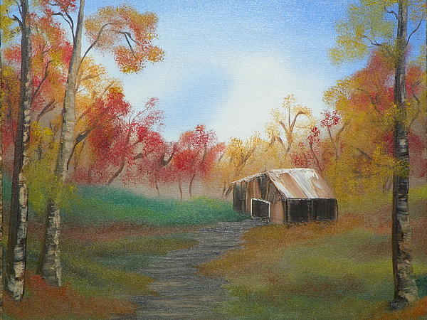 Rustic Print by Amity Traylor
