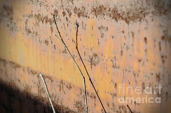 Rustic Landscape Print by Luke Moore