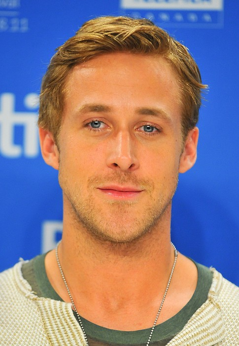 Ryan Gosling At The Press Conference Print by Everett