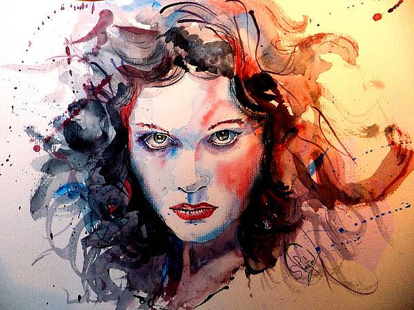 Sabina Print by Steven Ponsford