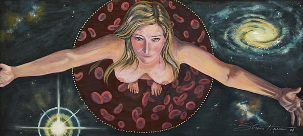 Sacred Circle II Print by Sheri Howe