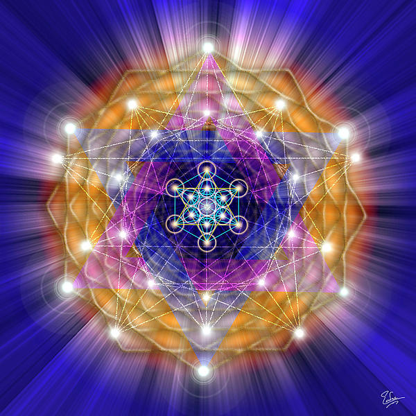Sacred Geometry 23 Digital Art
