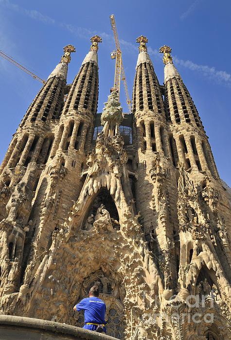 Sagrada Familia Barcelona Spain Print by Matthias Hauser