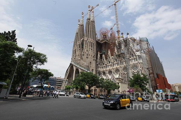 Sagrada Familia Barcelona Print by Xavier Torres