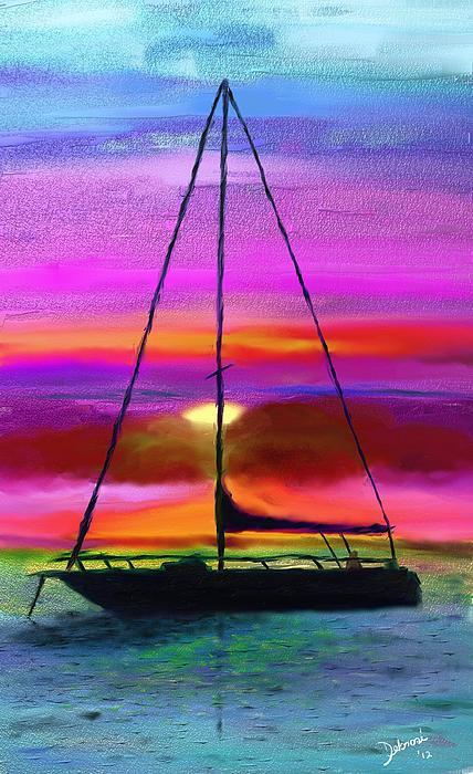 Debrosi   - Sailboat silhouette