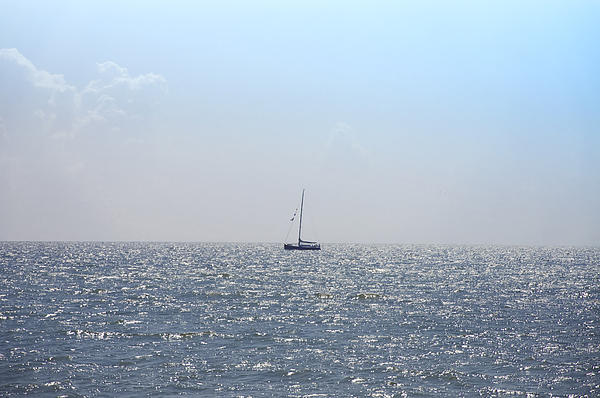 Sailing On Print by Bill Cannon
