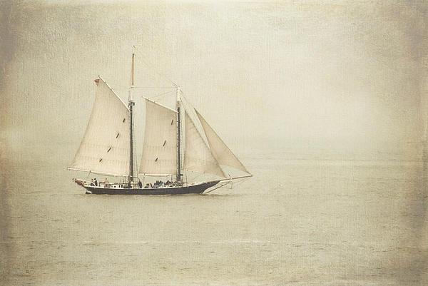 Sailing Ship Print by Hannes Cmarits