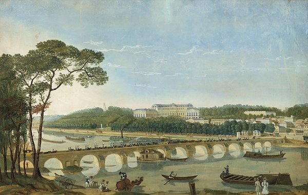 Saint-cloud During The Visit Of King Francois I, France, 1830 Print by Photos.com
