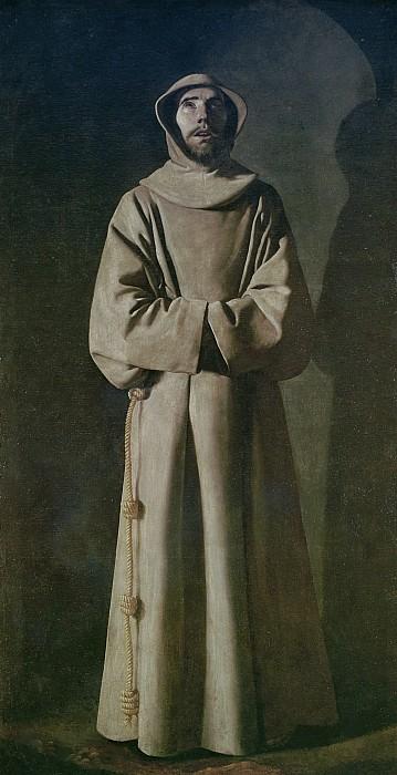 Saint Francis Print by Francisco de Zurbaran