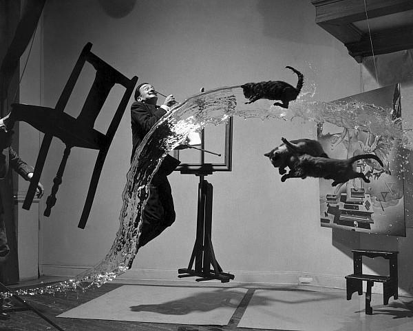Salvador Dali 1904-1989 Print by Granger