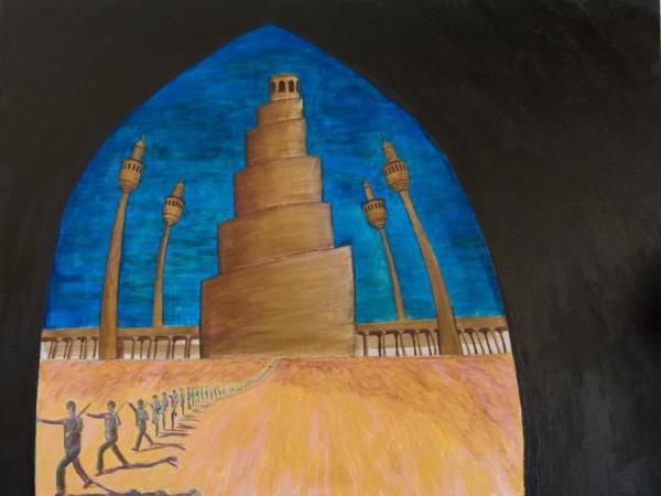 Samarra Print by Julia Collard