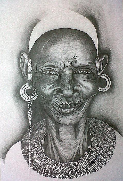 Samburu Tribe I. Print by Paula Steffensen