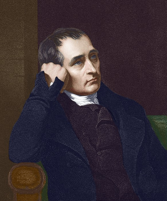 Samuel Crompton, British Inventor Print by Sheila Terry