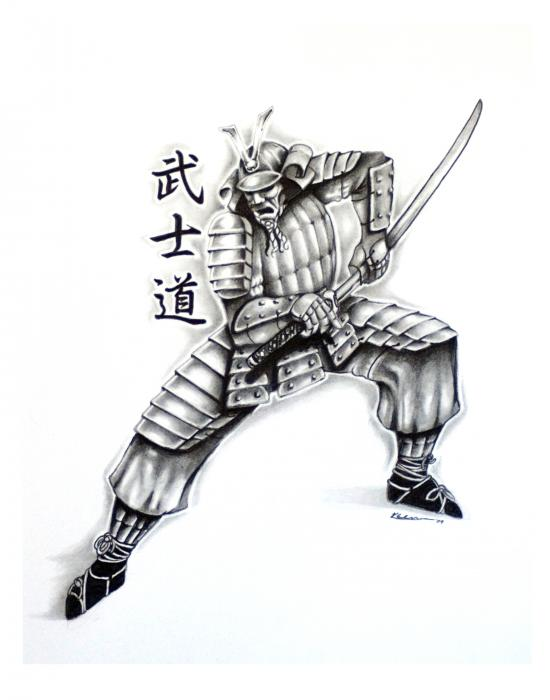 Samurai Tattoo Design 2