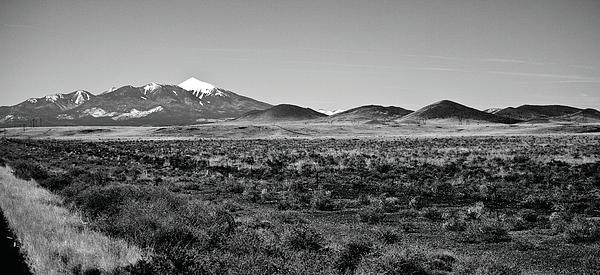 San Francisco Peaks Print by Gilbert Artiaga
