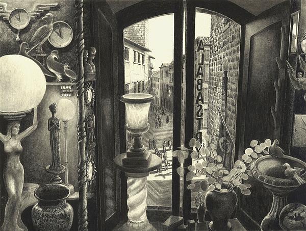San Gimignano Print by Norman Bean
