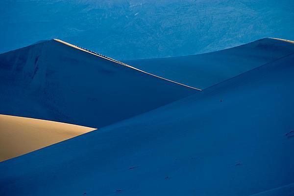 Sand Dunes Sunrise Print by Steve Gadomski