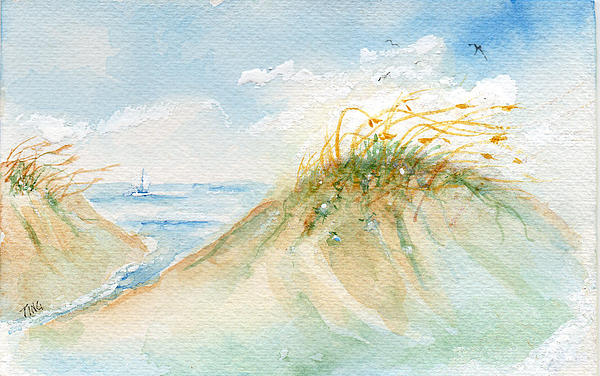 Doris Blessington - Sand Dunes Tybee Island