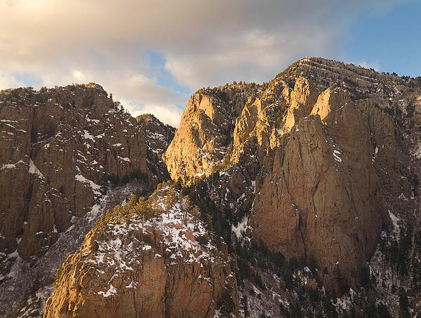Nathan Mccreery - Sandia Crest in Winter