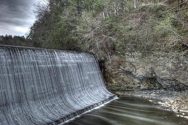 Sandy Hook Mill Dam Print by David Clark