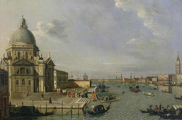 Santa Maria Della Salute - Venice  Print by William James