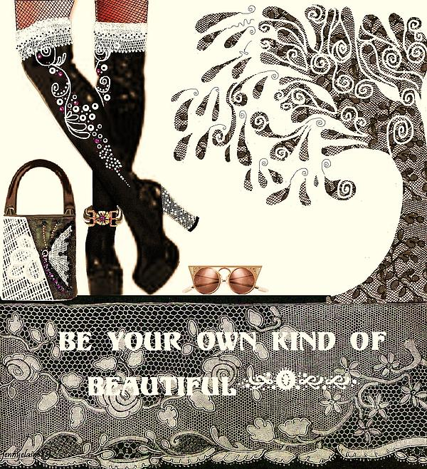 Sassy Boots  II Print by Jenny Elaine