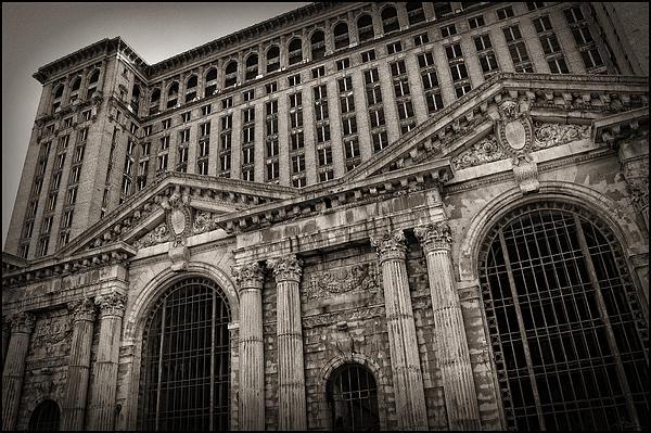 Save The Depot - Michigan Central Station Corktown - Detroit Michigan Print by Gordon Dean II