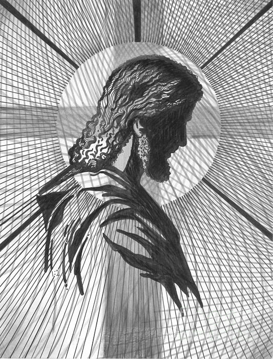 Saviour Print by Peter Olsen