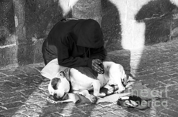 Say A Prayer In Prague Print by John Rizzuto