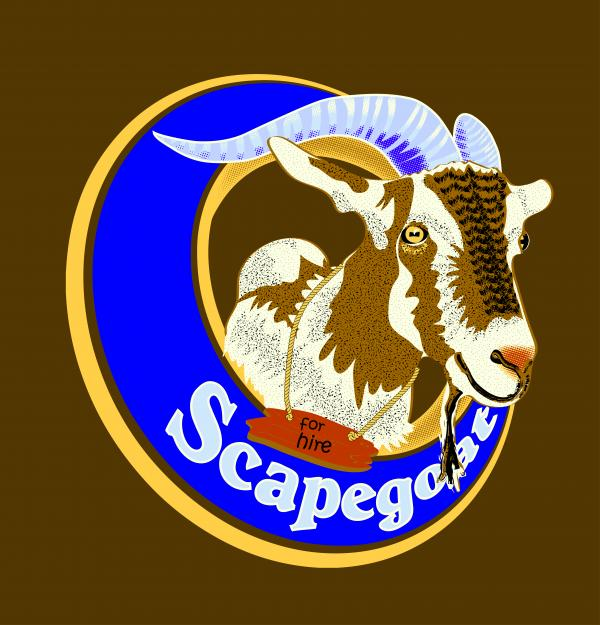 Scapegoat For Hire Print by Laura Brightwood