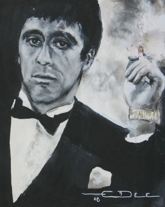 Scarface2 Print by Eric Dee