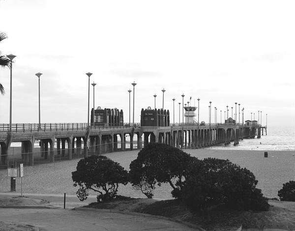 Scenes Of Los Angeles, Huntington Beach Print by Everett