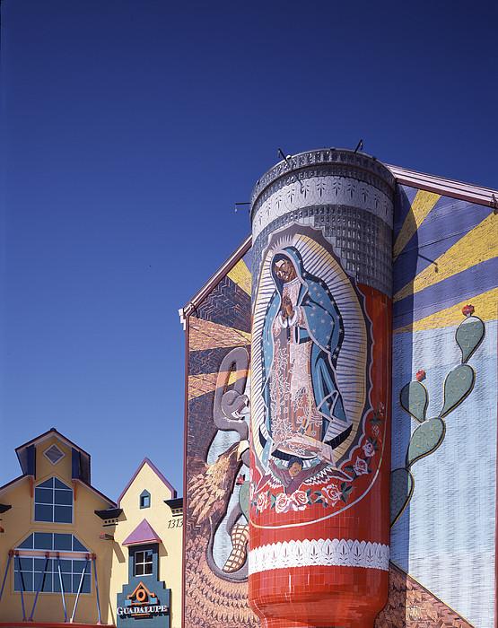 Scenes Of Texas, The Virgin Print by Everett