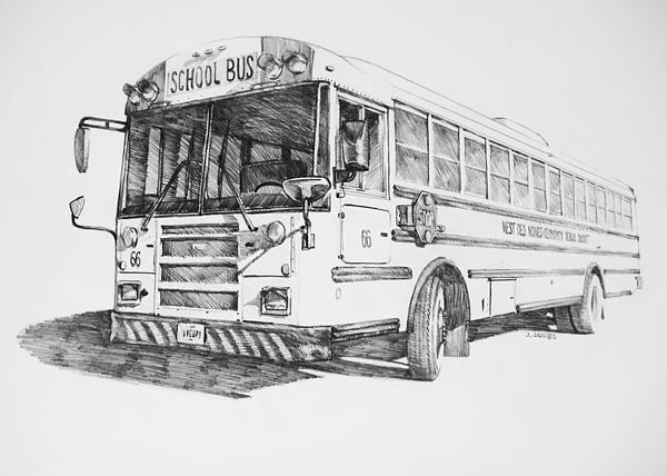 School Bus 66 by Jake Jacobs