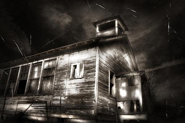 School House Rot Print by Karri Klawiter