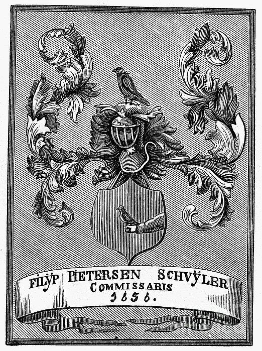 Schuyler Family: Arms Print by Granger