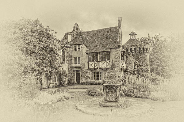 Scotney Castle Print by Chris Thaxter