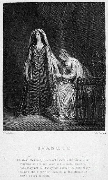 Scott: Ivanhoe, 1832 Print by Granger