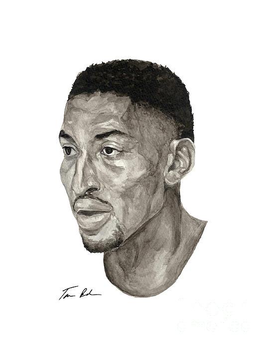 Scottie Pippen Print by Tamir Barkan