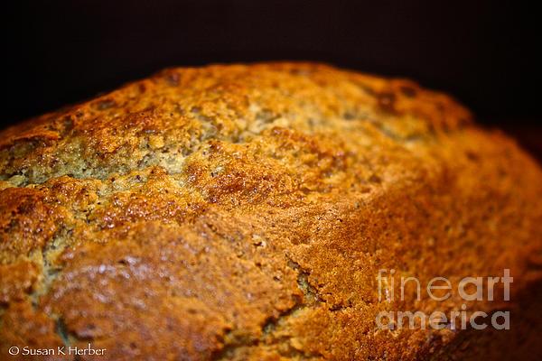 Scratch Built Bread Print by Susan Herber