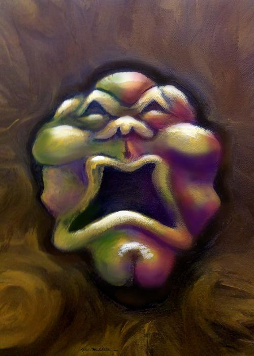 Scream Painting  - Scream Fine Art Print