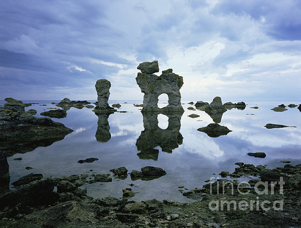 Sea Arch Print by Bjorn Svensson and Photo Researchers