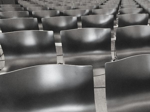 Sea Of Seats I Print by Anna Villarreal Garbis